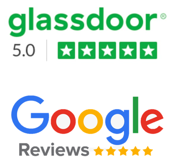 Le Bus Anglais has a 5 star rating on Glassdoor and Google