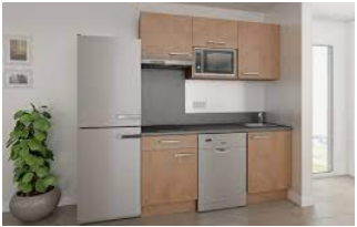 Some of the modern homes are kitchen fitted and equipped