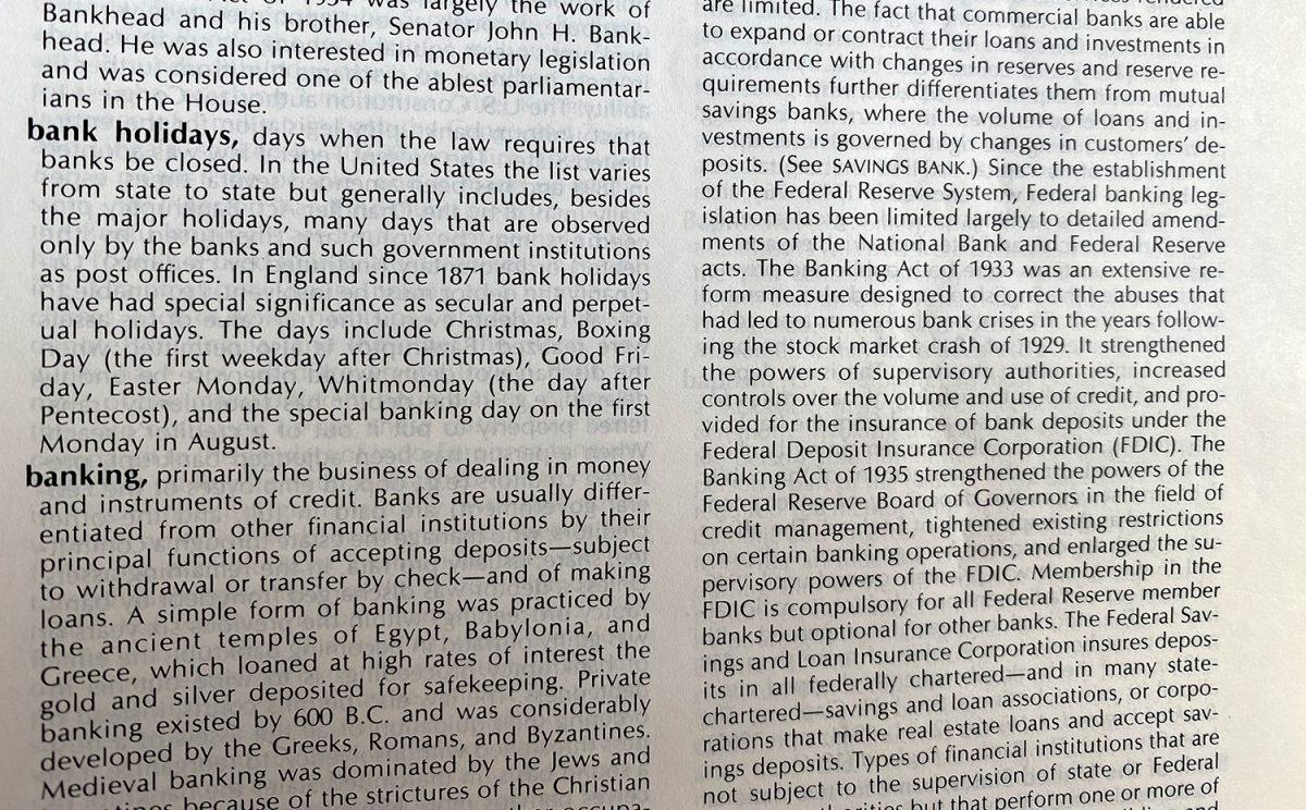 Banking Glossary